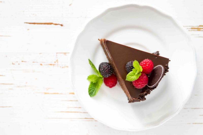 tagAlt.Gluten Free Dark Chocolate Cake with Balsamic Vinegar