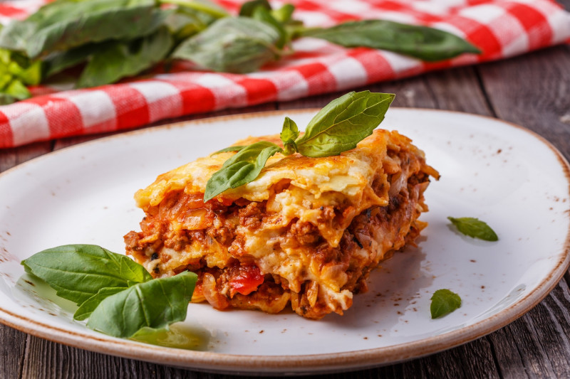 tagAlt.Lasagna with Meat and Tomato Sauce